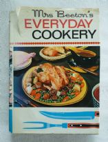 zz Mrs Beeton's Everyday Cookery (1975) - vintage hardback recipe book (SOLD)
